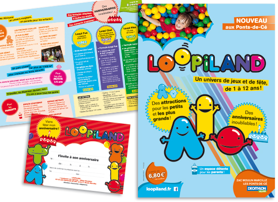 Loopiland-Supports de communication
