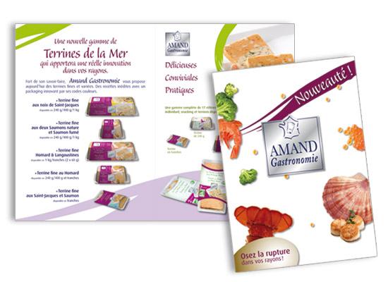 Amand Gastronomie-Plaquette