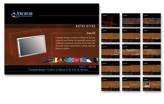 Axess Technology-Borne interactive