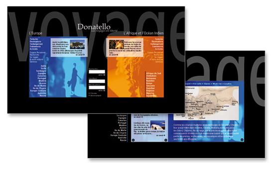 Donatello-Site web
